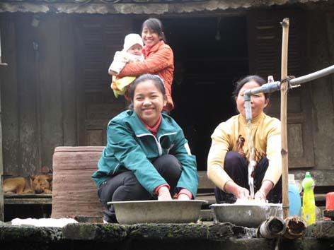 Thái Nguyên:Trên 80% số dân nông thôn được sử dụng nước sinh hoạt hợp vệ sinh