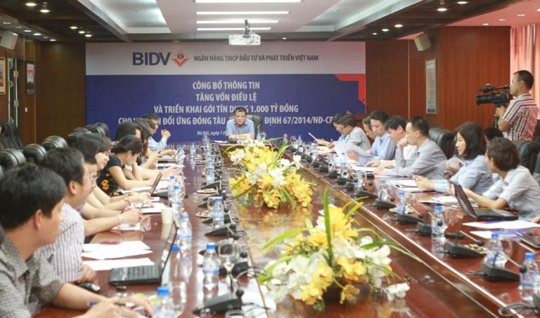 BIDV triển khai gói tín dụng 1.000 tỷ đồng cho vay đóng tàu theo Nghị định 67/2014/NĐ-CP