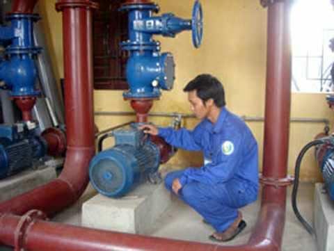 Nam Định: 93% dân số ở nông thôn được dùng nước hợp vệ sinh