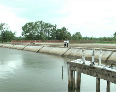 Bến Tre: Tỉ lệ dân cư nông thôn sử dụng nước sạch đạt 86,5%