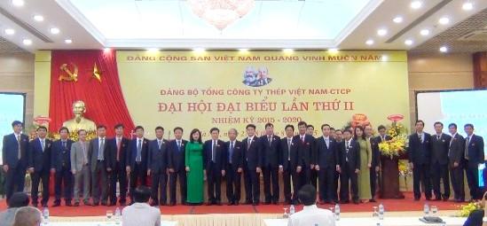 Xây dựng Tổng công ty Thép Việt Nam phát triển ổn định, bền vững