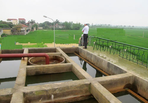Bắc Ninh: Dự án nước sạch cụm liên xã Bình Dương – Cao Đức dự kiến hoàn thành cuối năm 2015