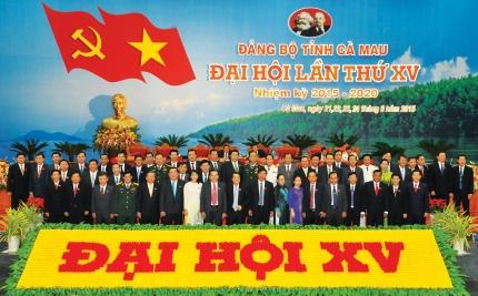 Bế mạc Đại hội đại biểu Đảng bộ tỉnh Cà Mau lần thứ XV