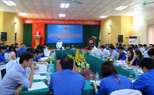 Cán bộ, công chức, viên chức trẻ góp ý kiến vào Dự thảo Văn kiện Đại hội toàn quốc lần thứ XII của Đảng