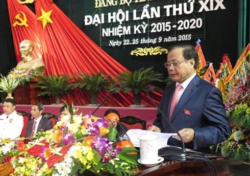 Khai mạc Đại hội đại biểu Đảng bộ tỉnh Nam Định lần thứ XIX