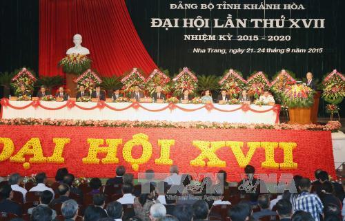 Chủ tịch Quốc hội Nguyễn Sinh Hùng: Khánh Hòa cần phấn đấu trở thành tỉnh phát triển khá của cả nước