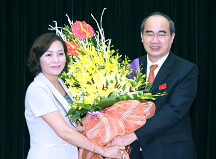 Đồng chí Nguyễn Thị Thanh tiếp tục được tín nhiệm bầu làm Bí thư Tỉnh ủy Ninh Bình