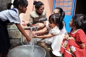 Hà Nội đầu tư hơn 85,7 tỷ đồng mở rộng việc cấp nước sạch cho huyện Gia Lâm