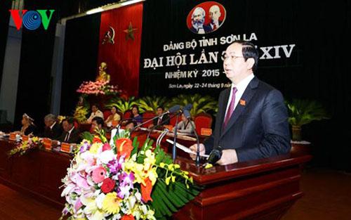 Khai mạc Đại hội đại biểu Đảng bộ tỉnh Sơn La lần thứ XIV
